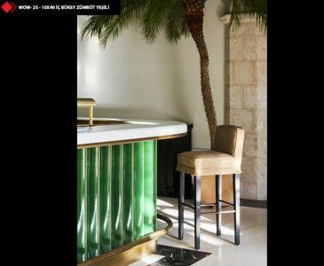 Bar Önü Yeşil Seramik