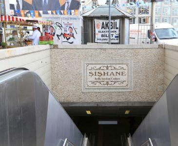 Şişhane metro istasyonu